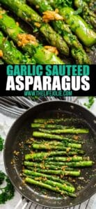 Everyone loves my Garlic Green Beans recipe so much that I just had to make a variation using asparagus! Garlic Sautéed Asparagus recipe is a quick and easy side dish that's full of fantastic flavor with minimal ingredients.