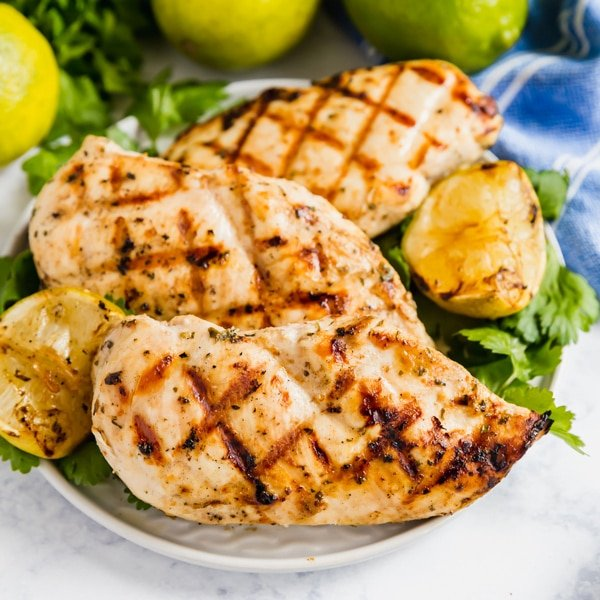 Once you try this Coconut Cilantro Lime Chicken, it will be your go-to grilled chicken for the summer! Just a few simple ingredients and you've got a marinated chicken you can use that day or freeze for later.