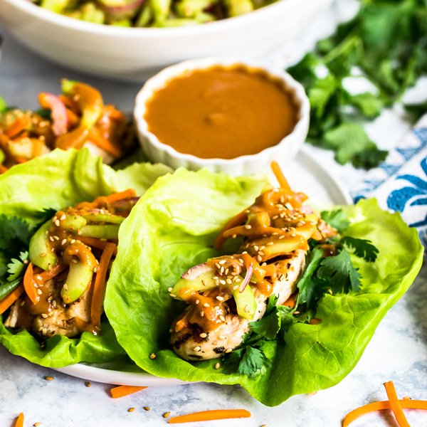 Do you love the Cheesecake Factory's Thai Lettuce Wraps! Well then why not make them at home? They're easy to make and totally delicious!
