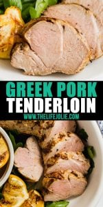 Once you try this Greek Pork Tenderloin marinade, you'll be making it on repeat all summer. It whips up in minutes and gives your pork tenderloin (or any protein of choice!) the most fantastic flavor!