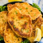 These breaded pork chops are a lightning-fast dinner that is sure to please! Made using thinly-sliced pork cutlets, they cook up quickly and easily with a flavorful, crisp breading and around the most juicy, mouthwatering pork.