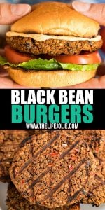 This Black Bean Burger recipe is so good, it'll turn even the biggest meat and potatoes lovers into Meatless Monday fans! Great flavor and minimal work makes these an easy and satisfying vegetarian dinner!