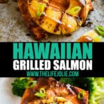 One of my favorite summer dinners is Hawaiian Grilled Salmon. It's super easy to throw together in a seriously flavorful marinade. You'll be going back to this recipe again and again!