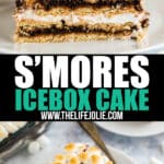 Meet the ultimate picnic dessert: S'mores Icebox Cake! This easy make-ahead dessert is quick to throw togetherwith just a few ingredients and the results are beyond delicious.