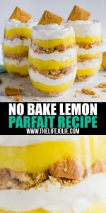 If you're looking for a quick and easy no-bake dessert, look no further! This Lemon Parfait Dessert will be your new go-to sweet treat!