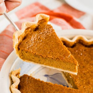 Is it even a holiday table without Pumpkin Pie? This classic pumpkin pie recipe is an easy and delicious way to get everyone's favorite holiday dessert onto the table without all the hassle!