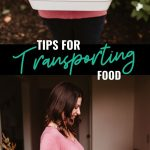 Transporting food doesn't have to be difficult. I've put together a post with all my tips and tricks for transporting all your favorite food items to make it as easy as possible!