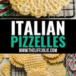 This Italian Pizzelle recipe is a classic Christmas cookie flavored with either vanilla or anise that we all know and love. They're super easy to make with a light and slightly crispy texture you won't be able to get enough of this holiday season!