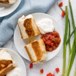 This Make-Ahead Breakfast Burrito recipe is a quick grab-and-go healthy breakfast with sausage and bell pepper that's as delicious as it is easy. They're great to make ahead and freeze or serve right away as a satisfying brunch option.