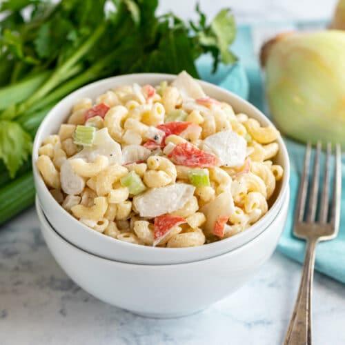 Crab Salad Recipe Pasta