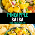 This Pineapple Salsa recipe is a quick and easy way to take your snacking to the next level. Deliciously sweet and spicy this goes great with chips and is the perfect upgrade to your favorite protein for dinner!